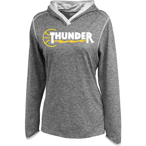 Thunder Women's Space Dye Hoody