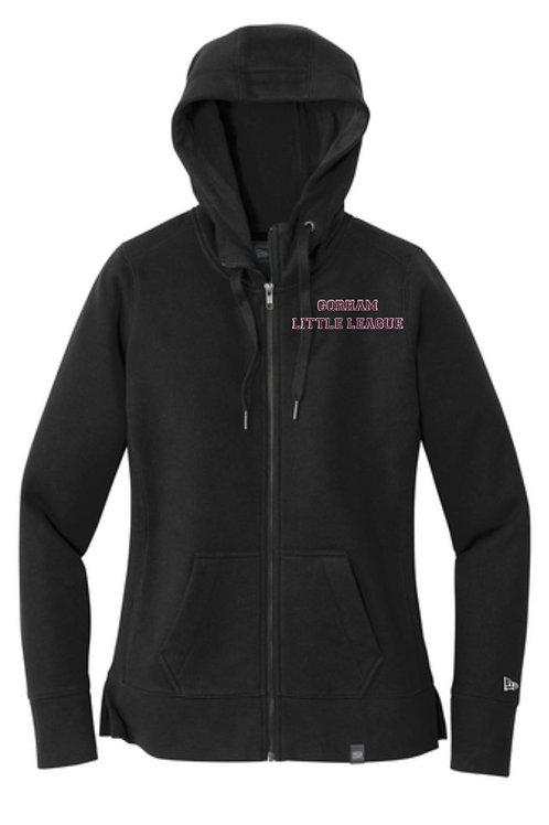 Gorham Little League Ladies Full Zip Sweatshirt