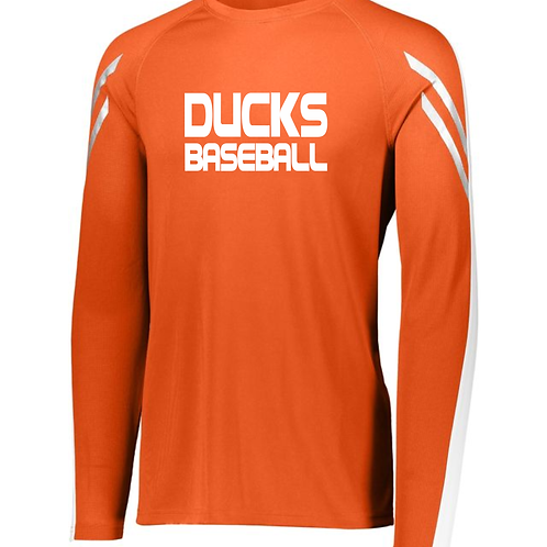 Presumpscot Ducks Flux Long Sleeve T-shirt