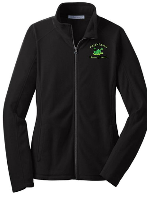 Leap N Learn Women's Full Zip Fleece Jacket