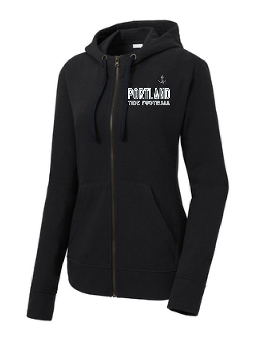 PYFL Women's Full Zip Hoody