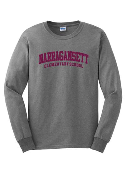 Narragansett Elementary School Long Sleeve T-shirt