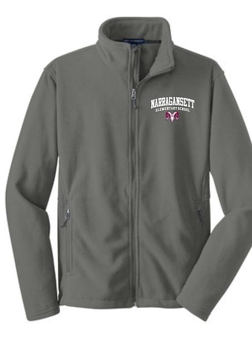 Narragansett Elementary School Full Zip Fleece Jacket