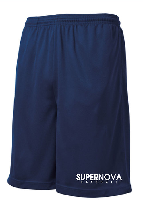 Supernova Baseball Mesh Pocket Shorts