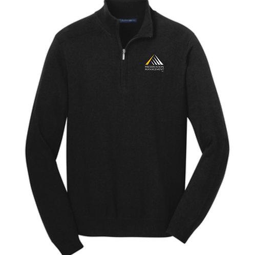 Preservation Management Half-Zip Pullover
