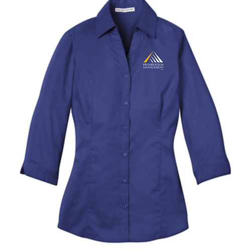 Preservation Management 3/4 Sleeve Blouse