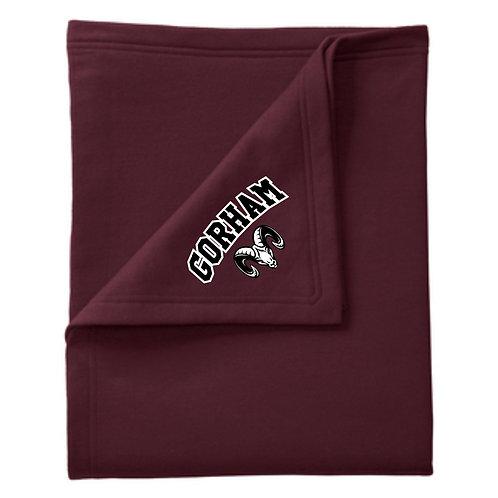 Gorham Soccer Sweatshirt Blanket