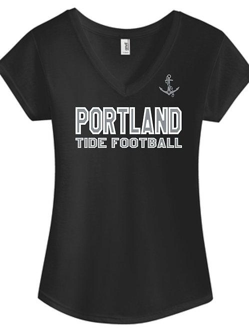 PYFL Women's Tri-blend Vneck T-shirt