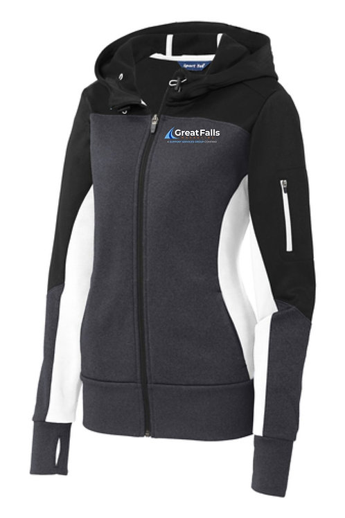Great Falls Marketing Ladies Tech Fleece Jacket