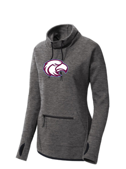 Windham Boosters Ladies Triumph Cowl Neck Pullover