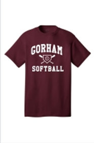 Gorham Softball Cotton T-Shirt
