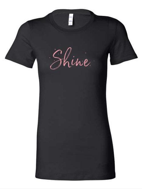 Shine Hair Salon Ladies Slim Fit T-shirt