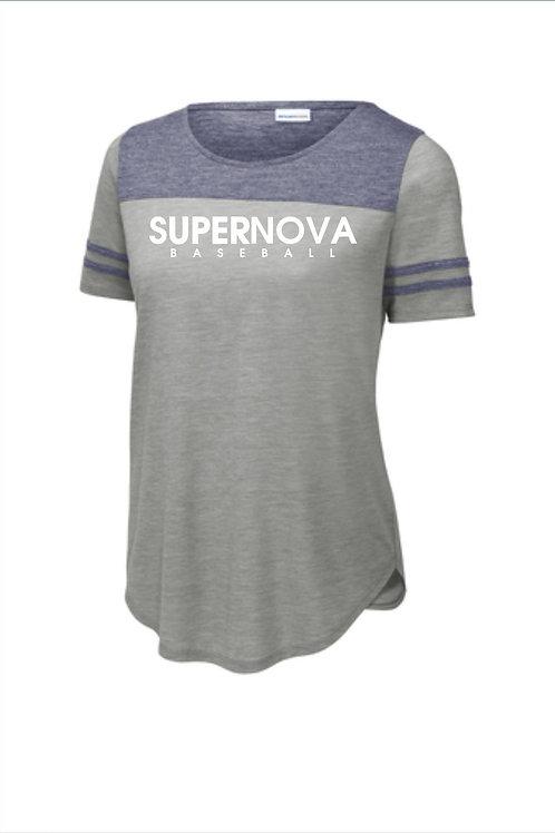 Supernova Baseball Ladies Fan T-shirt