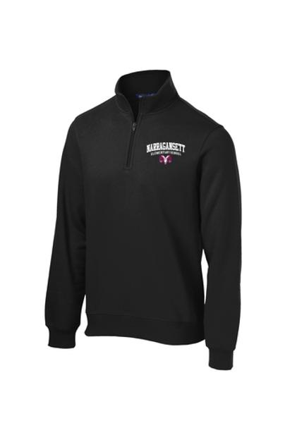 Narragansett Elementary School Quarter Zip Sweatshirt