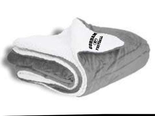 Gorham Football Sherpa Blanket