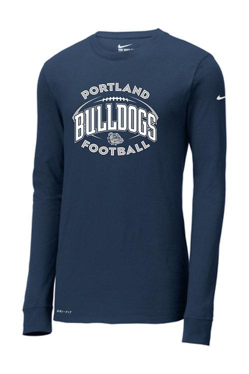 Portland Football Nike Long Sleeve T