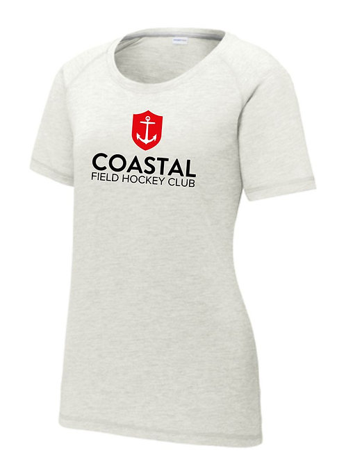 Coastal Ladies TriBlend Scoop Tee