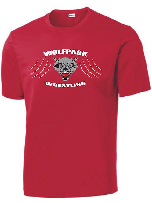 Wolfpack Wrestling Tech Tee