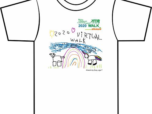 Maine Children's Cancer Program Virtual Walk T-Shirt 2020