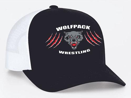 Wolfpack Wrestling Trucker Snapback Cap