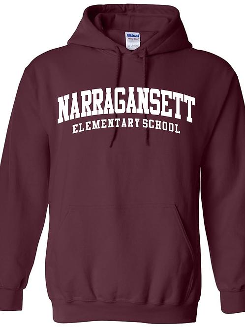 Narragansett Elementary School Hooded Sweatshirt