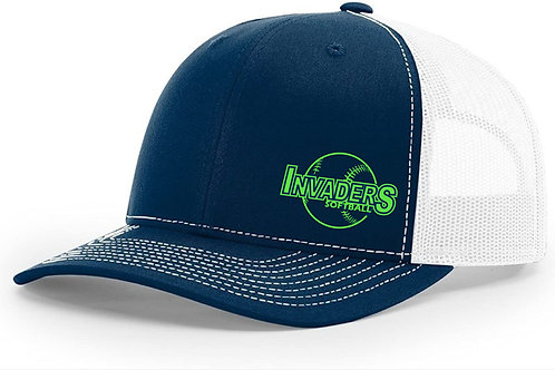 Invaders Softball Trucker Cap
