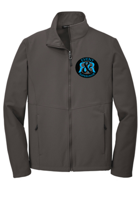 R&R SECURITY MEN'S SOFTSHELL JACKET