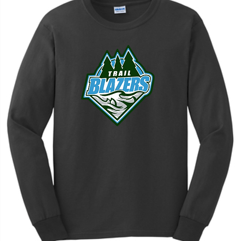 Trailblazers Hockey Long Sleeve Cotton T-shirt