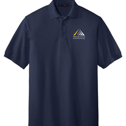 Preservation Management Cotton Polo