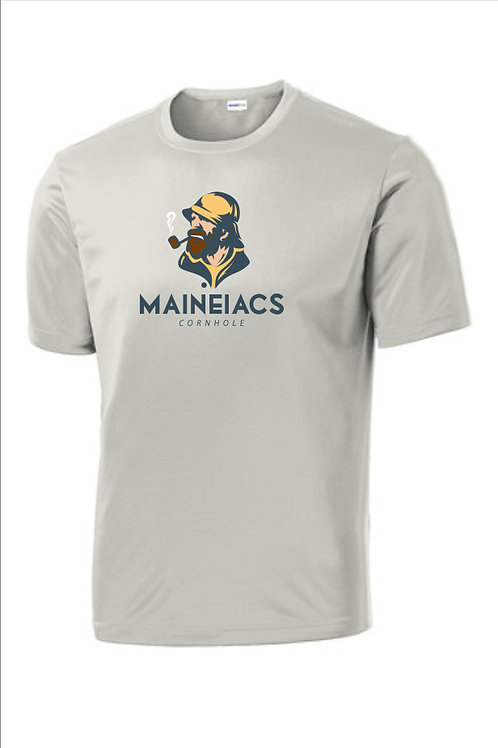 Maineiacs Cornhole Dri-Fit T-Shirt