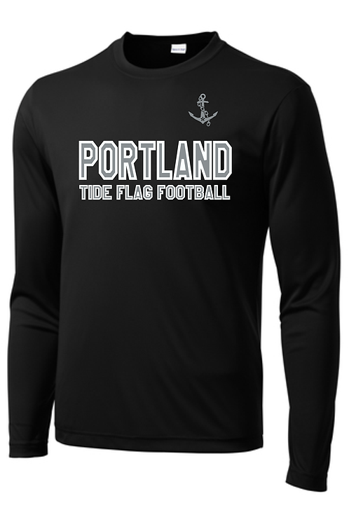 PORTLAND TIDE FLAG FOOTBALL LONG SLEEVE