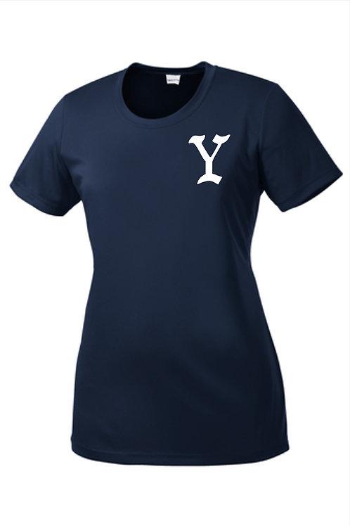 Yarmouth LL Women's Short Sleeve Y logo Tech T