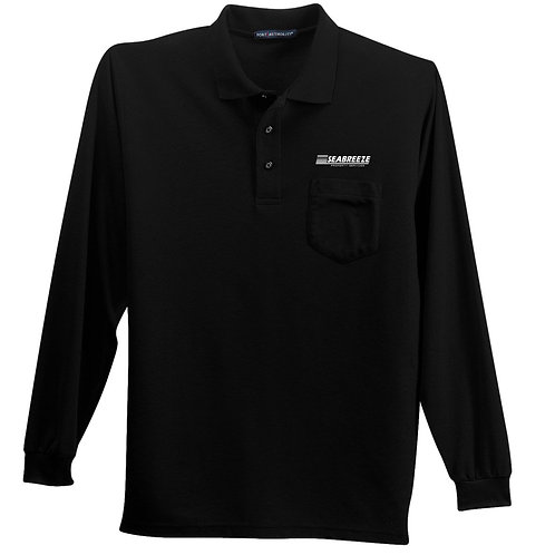 Seabreeze Long Sleeve Pocket Polo