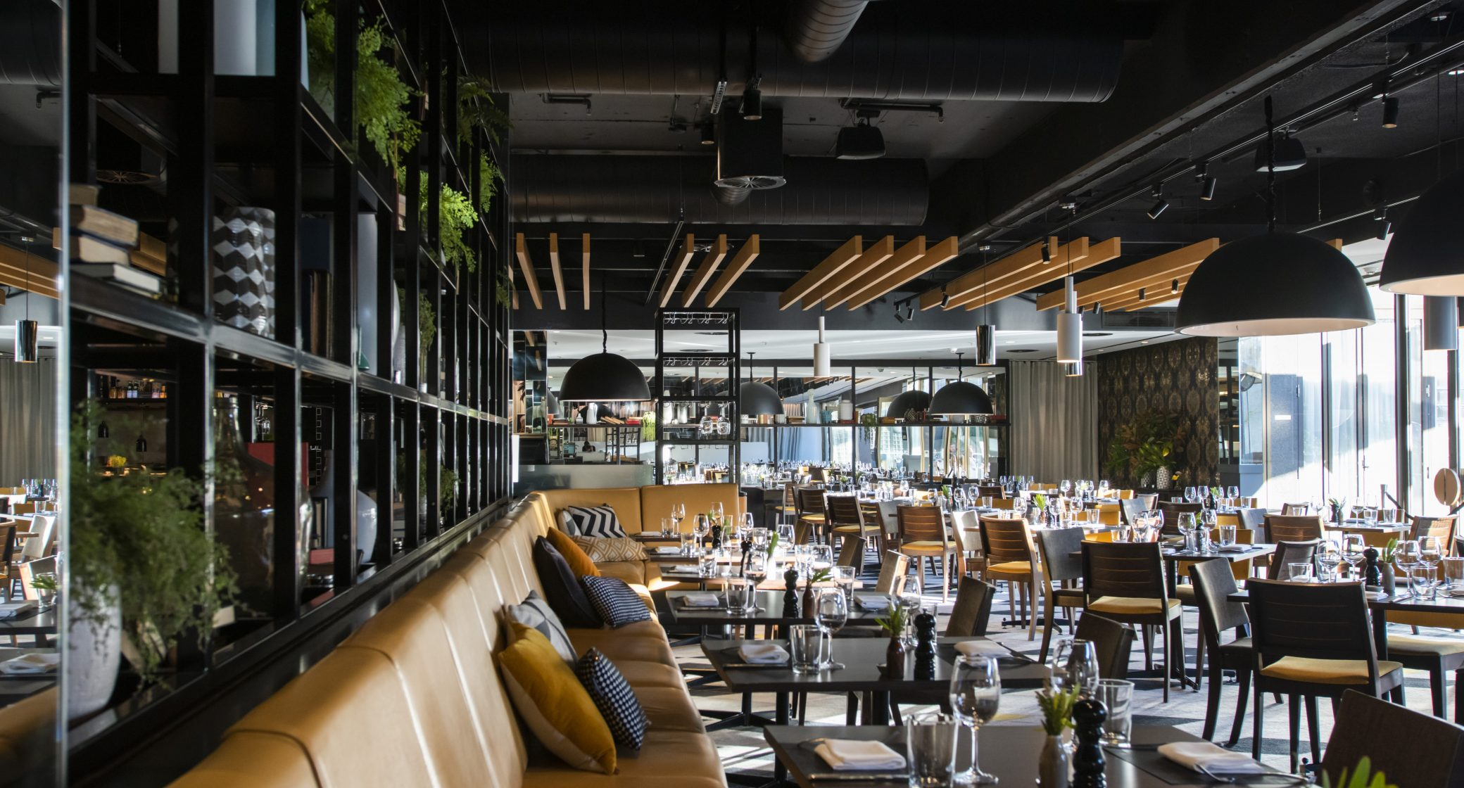 1 London Circuit, Capitol Bar & Grill in a designer chic luxury hotel