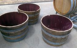 Oaken half barrels