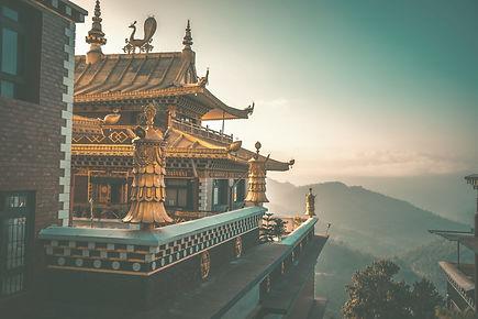 Buddhist monastery Thrangu Tashi Yangtse