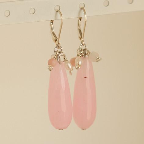 Rose Quartz Earrings: Love is in the Air