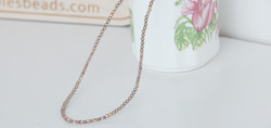 Moonstone necklace with swarovski pearls