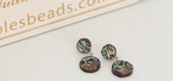 Hippie-style earrings