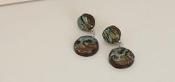 Hippie glam earrings
