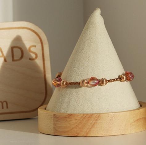 Rose Gold Wedding Bracelet