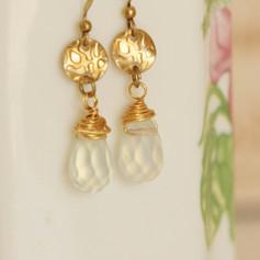 Brass Boho-Chic earrings