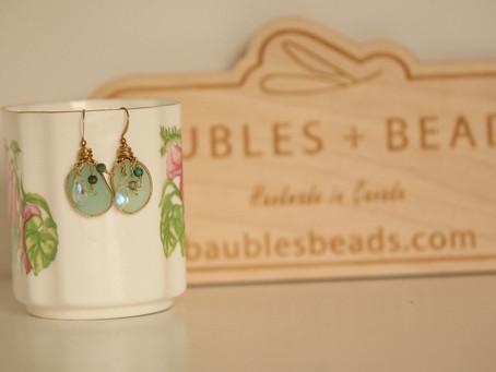 Glasses, earrings, rings .... love every little accessory