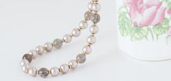 19-inch Smoky Quartz Necklace