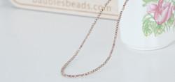 Chocolate moonstone, fire-polished glass, Swarovski pearls necklace