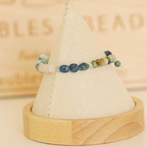 Kyanite & Turquoise Bracelet