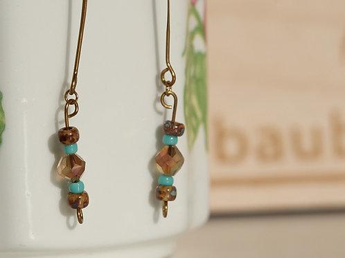 Boho Crystal Earrings