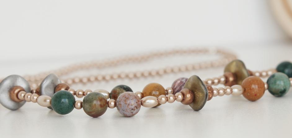 Ocean Jasper Semi-Precious Gemstones