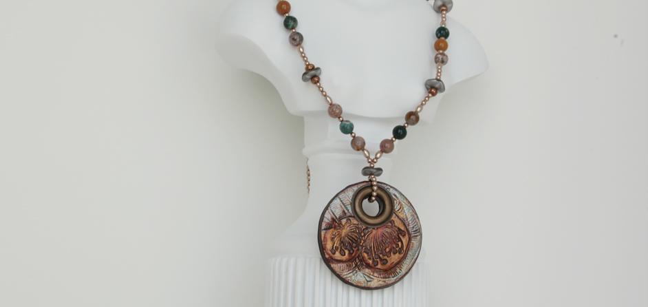 Boho Necklace & Exquisite Gemstones