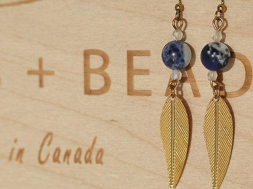 Brass Earrings Handmade